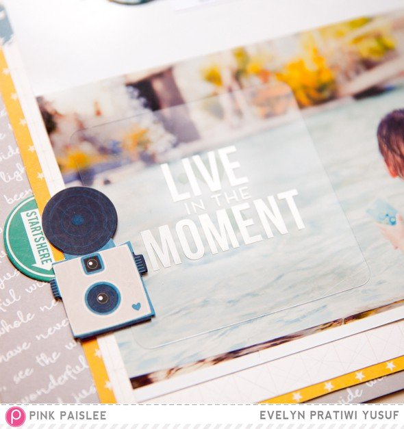 Live in the moment details 2 by evelynpy original