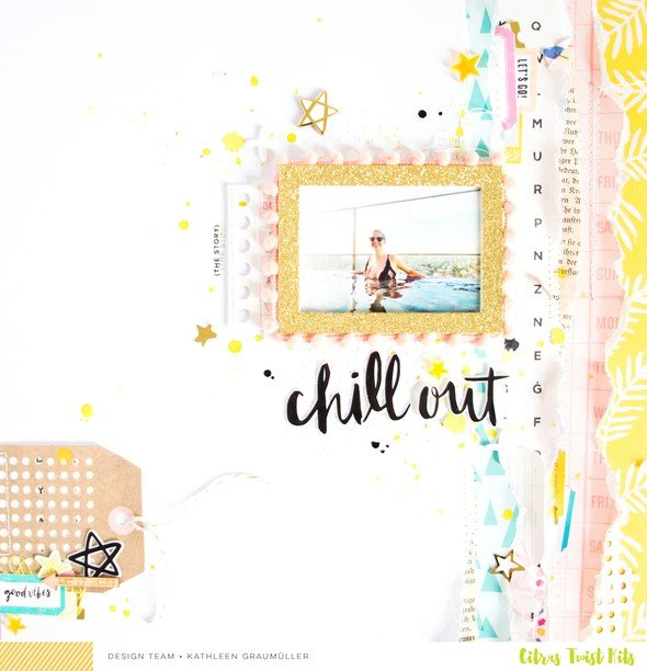 Chillout scatteredconfetti scrapbooking layout cratepaper citrustwistkits sugarland 1 original