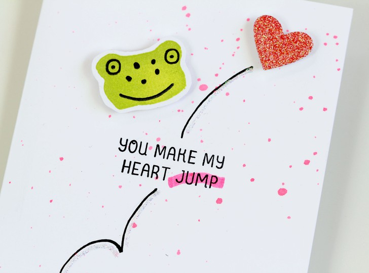 Heart jump detail original