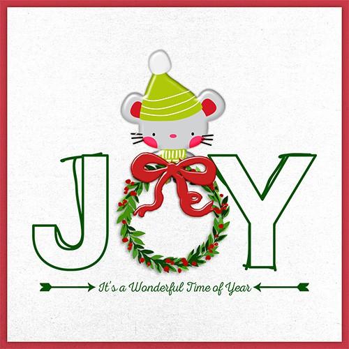 2016   joy christmas card original