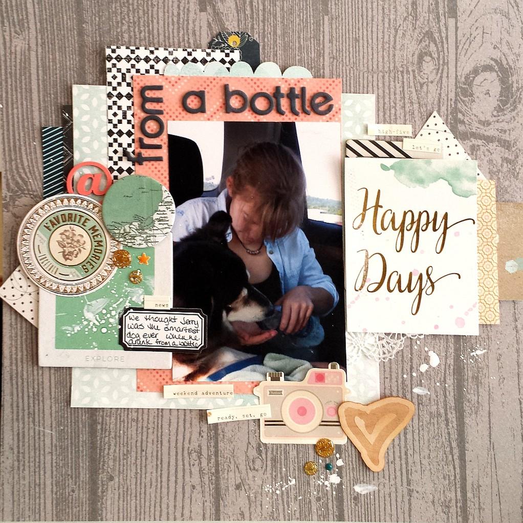 From a bottle2 original
