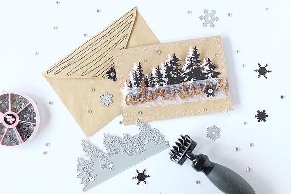 Sizzix treelinedie christmascard 002 original