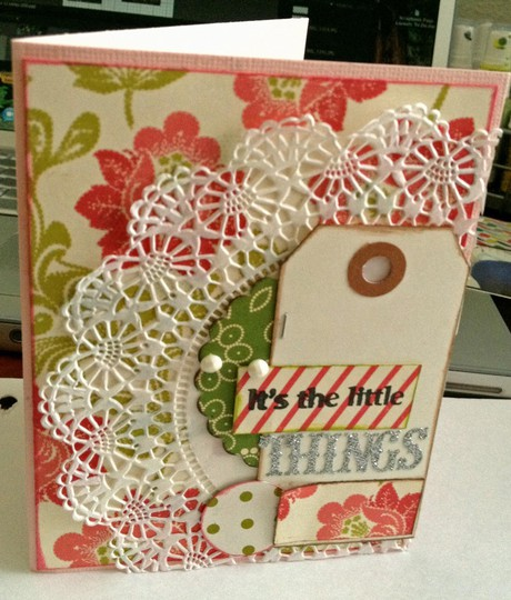 Card itsthelittlethings