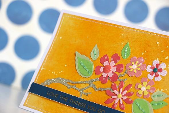 Love the flowers by natalie elphinstone original