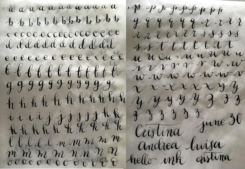 Letters original
