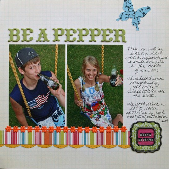 Be a pepper