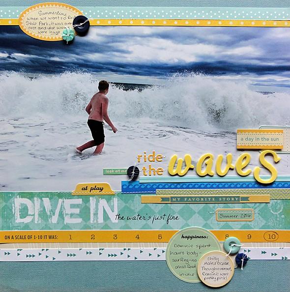 Ride the waves by jennifer larson original