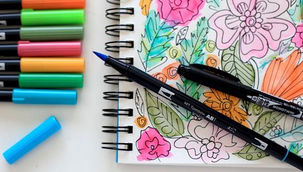 Smitha katti hand drawn florals4 original
