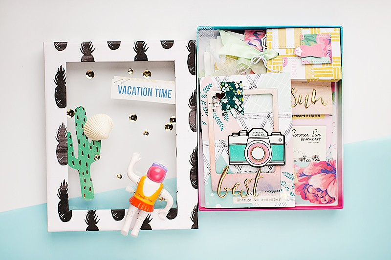 W vacationminialbum cratepaper original