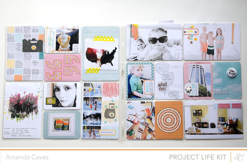 Itsmeamanda projectlife week27 fullspread