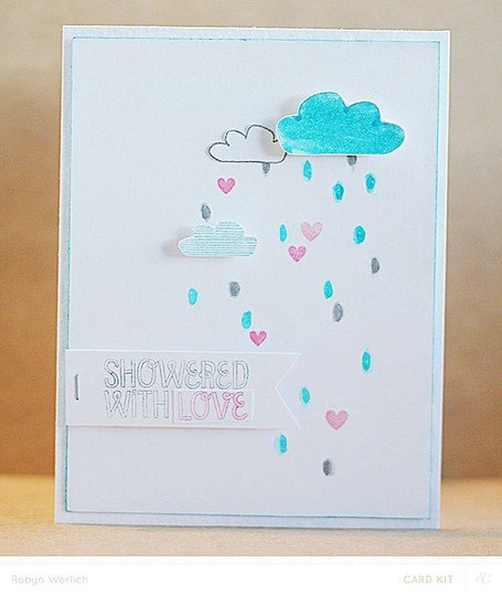 Rw card showered with love