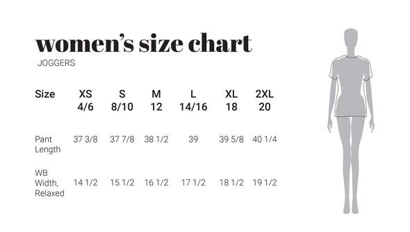 30a sizecharts womenjoggers original