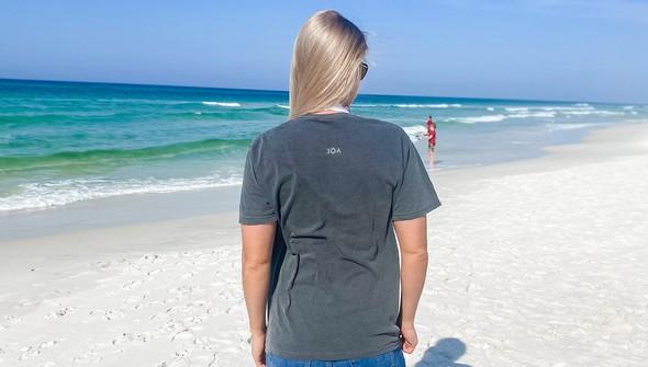 154087 simple beach happy comfort colors short sleeve tee women pepper slider4 original