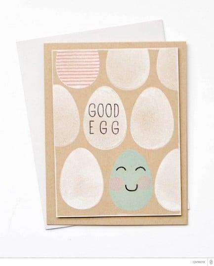 Good egg with banner original