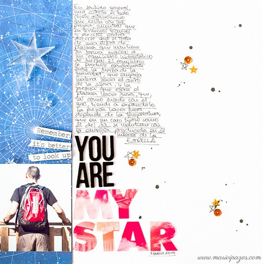 You are my star marivi