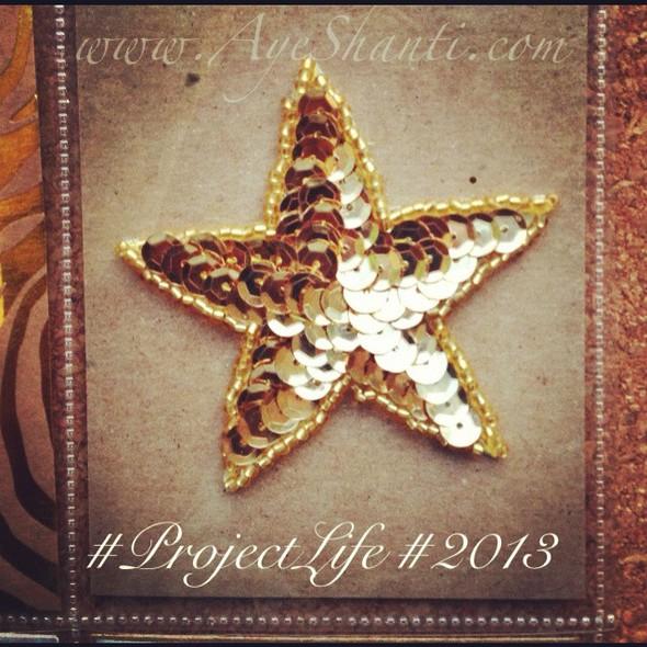 Ayeshanti goldstar projectlife