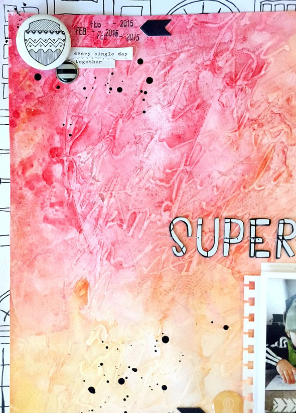 The softer side of superheroes layout   cu  background texture original