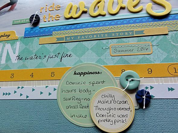 Ride the waves details original