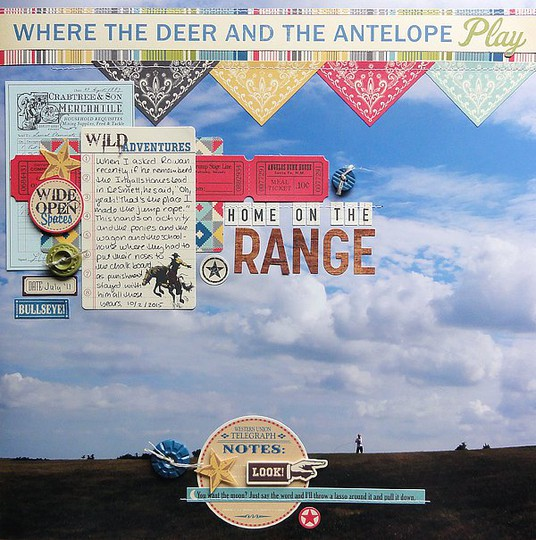 Home on the range by jennifer larson original