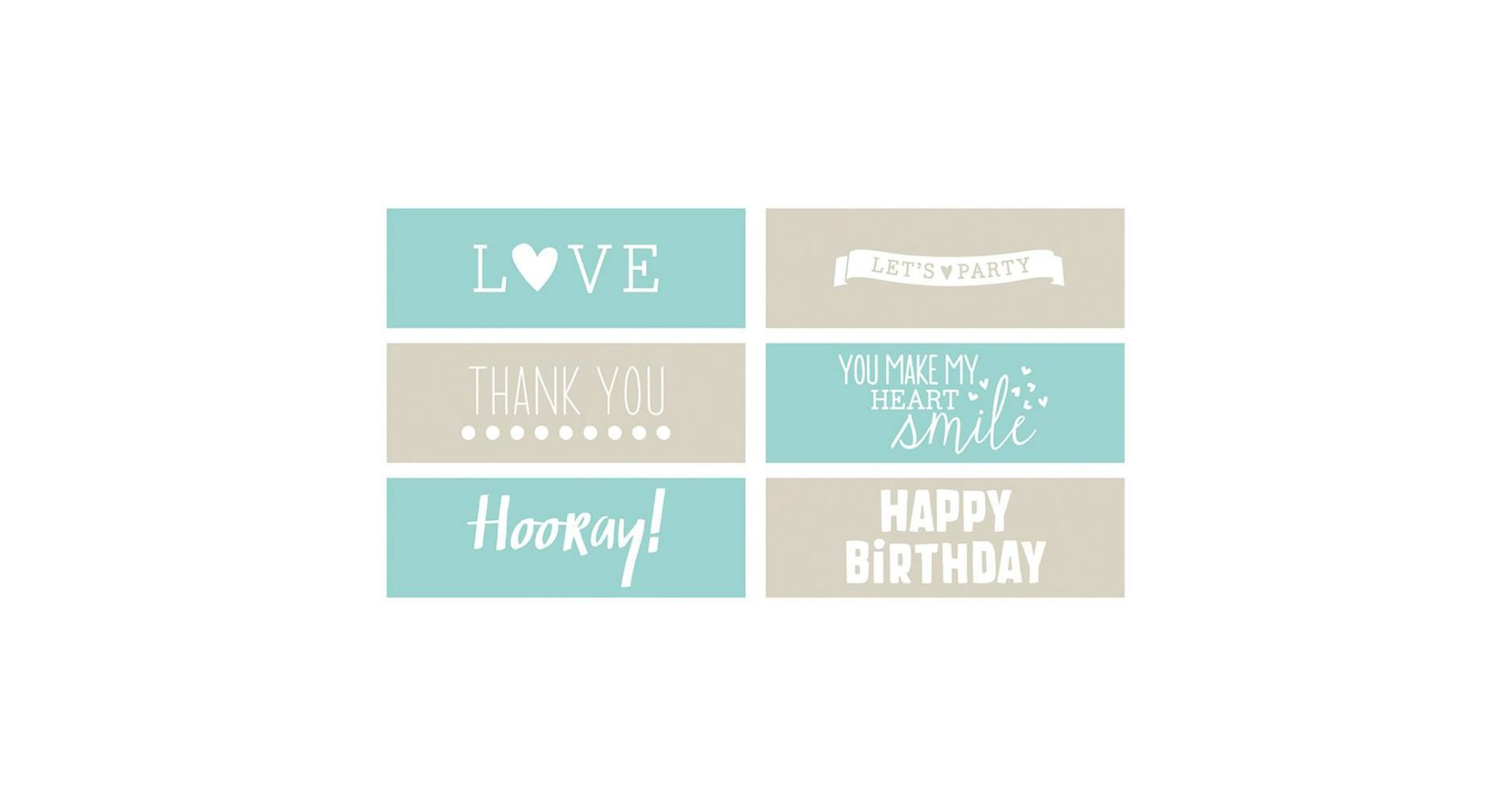 Big picture classes greeting card phrases embossing strips m4hsunfo