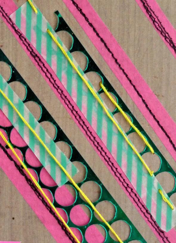 Washi chevron stripes punchinella