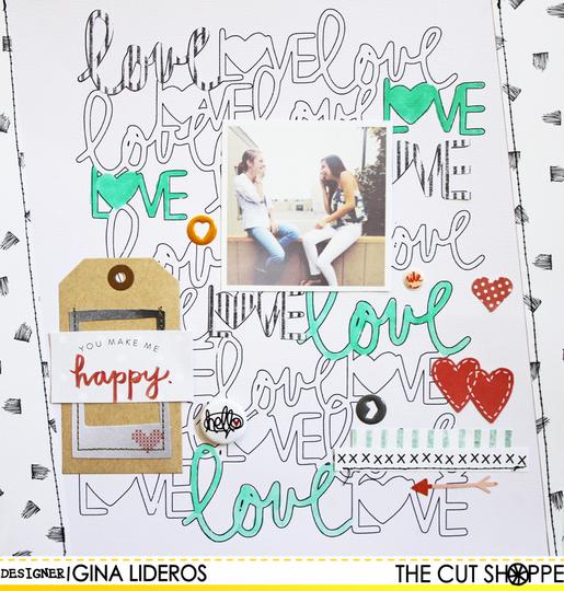 Ginalideros love layout