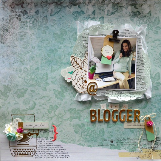 I am a blogger original