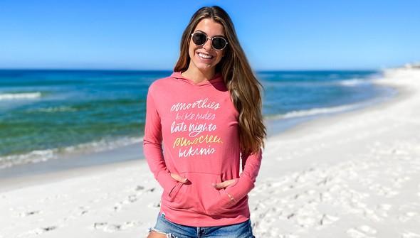 137604 beach trip essentials pullover hoodie women melon slider2 original