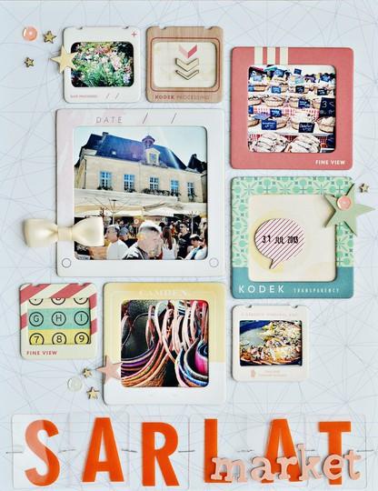 Sarlat market