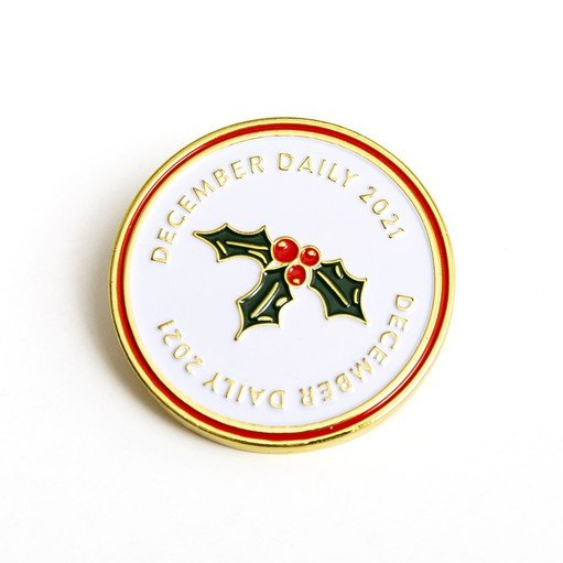 Picture of December Daily® 2021 Enamel Pin