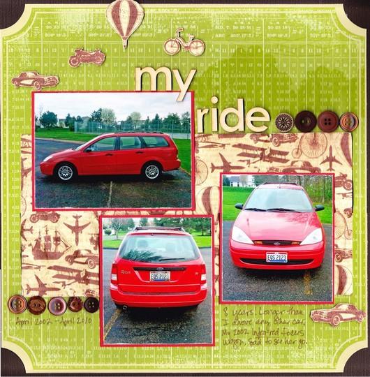 My ride 0001