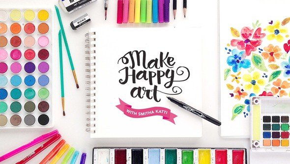 Make happy art smitha katti2 original
