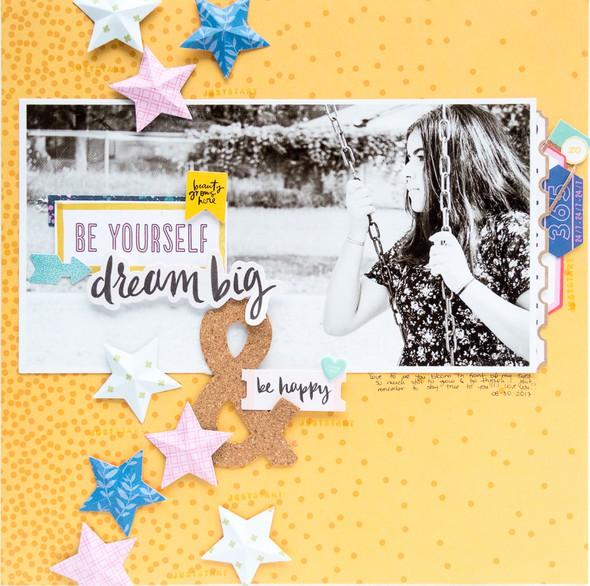 Sc be yourself dream big   be happy nathalie desousa original