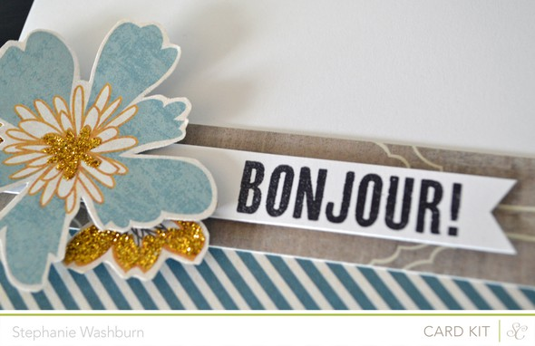 Bonjour close up