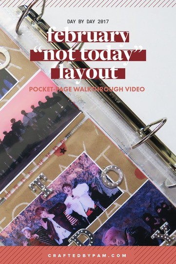February not today pin original