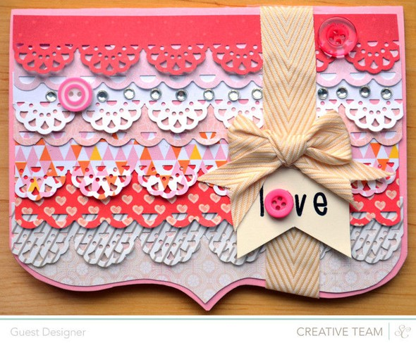 Love card by paige evans