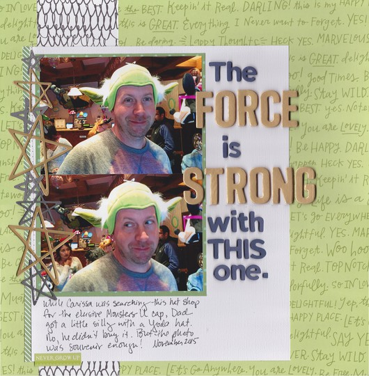 The force 0001 original