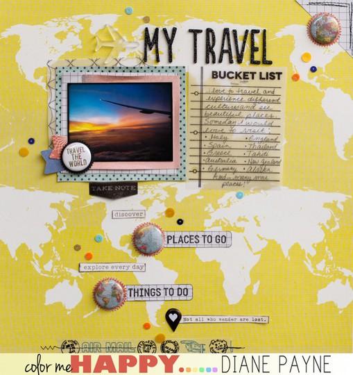 Travelbucketlist dianepayne