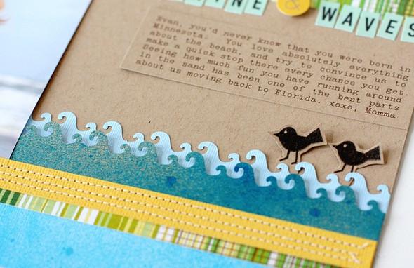 Sunshine and waves layout   jan sc   detail 2   susan weinroth