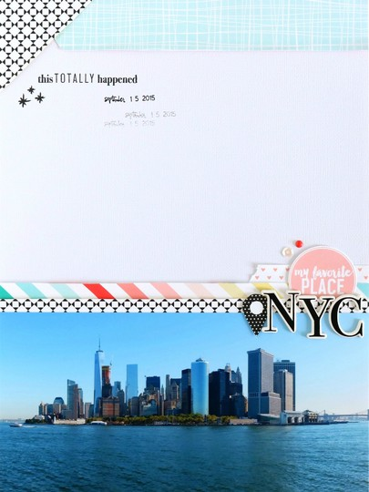 Nyc scrapbooking layout 1 original