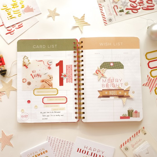 December daily by evelynpy day 1 full spread original