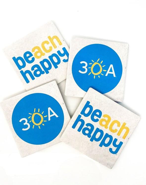 110940 30a  beach happy stone coasters slider 1 original