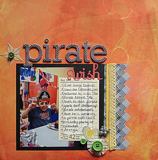 Pirate wish