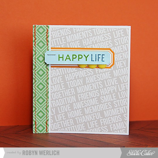 Happy life card