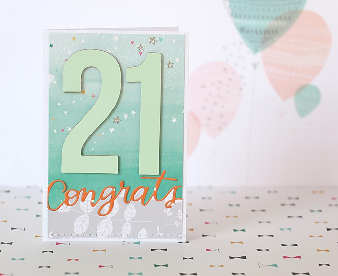 21st card by natalie elphinstone original