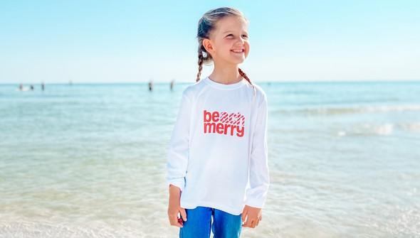 113881 beach merry candy cane long sleeve tee kids white slider2 original