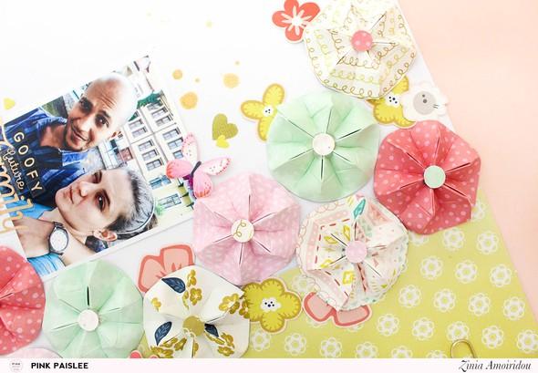 Pinkpaislee family origamiflowers 5 original