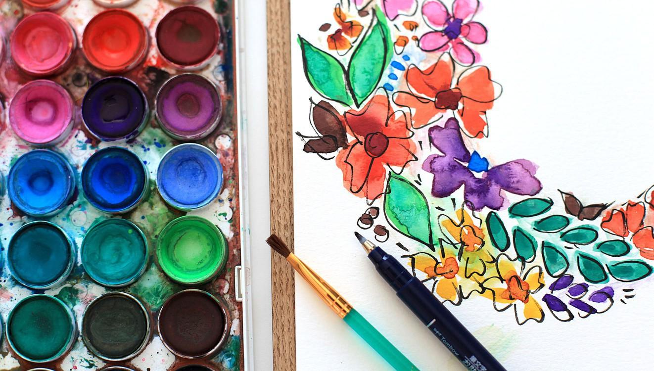 Smitha katti hand drawn florals3 original