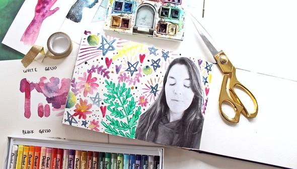 Watercoloring in your art journal gallery3 original