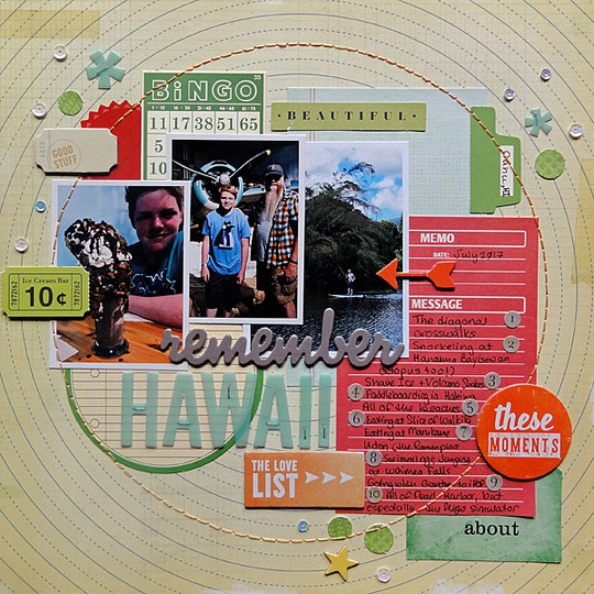 Remember hawaii by jennifer larson original